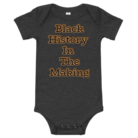 Baby History Short Sleeve One Piece