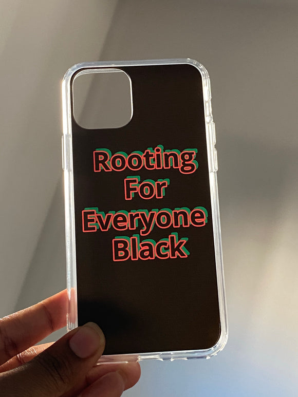 Blackout iPhone Case