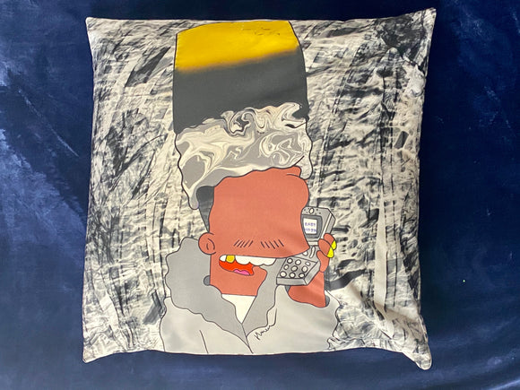 Silvah Surfah Bart Basic Pillow