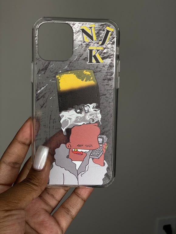 Silvah Surfah Bart iPhone Case