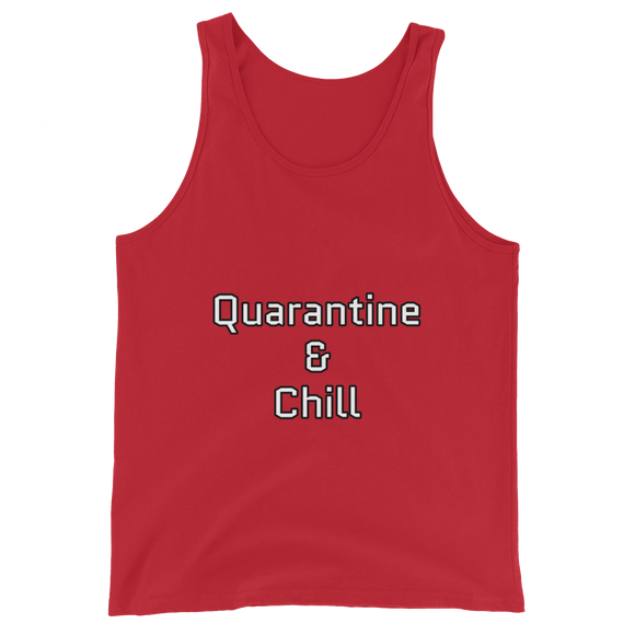 Quarantine & Chill Unisex Tank Top