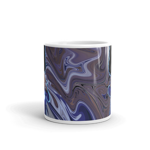 Berry Blues Glossy Mug
