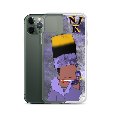 KidN'Bart iPhone Case