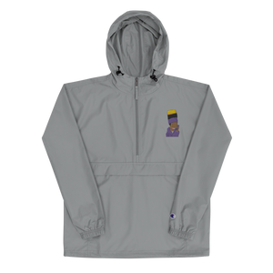 KidN'Bart Unisex Embroidered Champion Packable Jacket