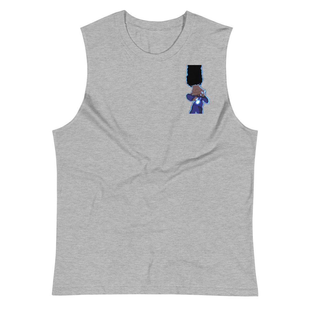 Berry Blues Muscle Shirt