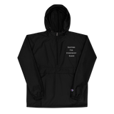 Blackout Embroidered Champion Packable Jacket
