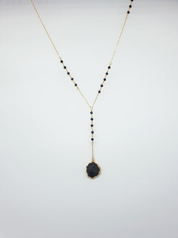 CURA COLLECTION - PRETO NECKLACE
