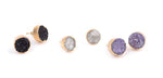 BRILHANTE COLLECTION - DRUZY STUDS