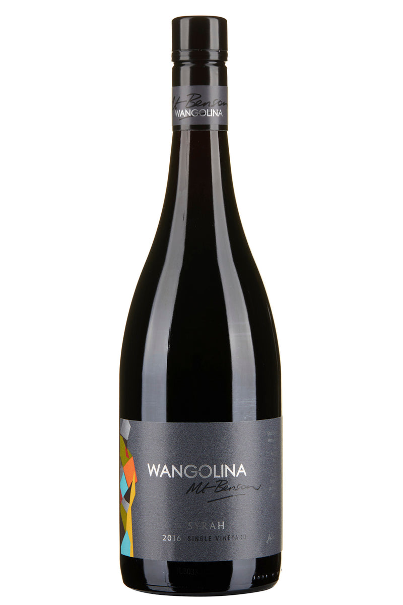 Wangolina Estate Mt Benson Syrah