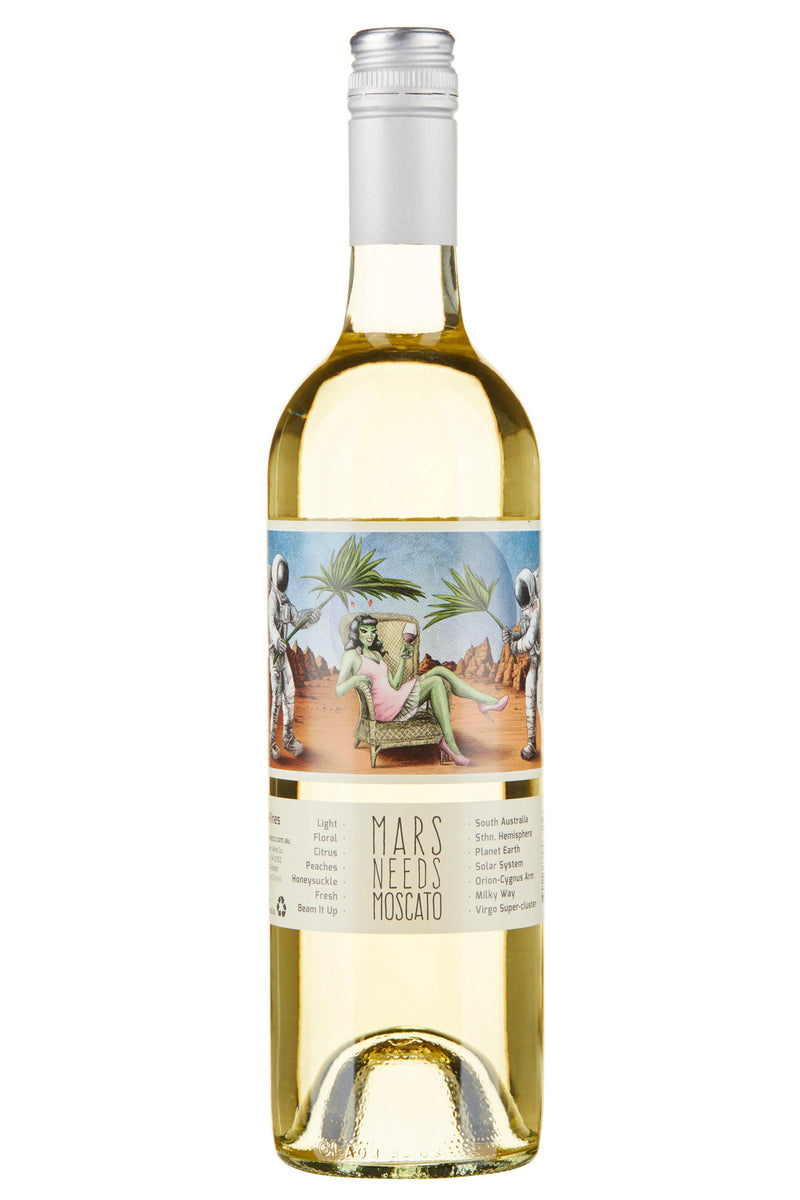 Muster Wines 'Mars Needs Moscato' NV