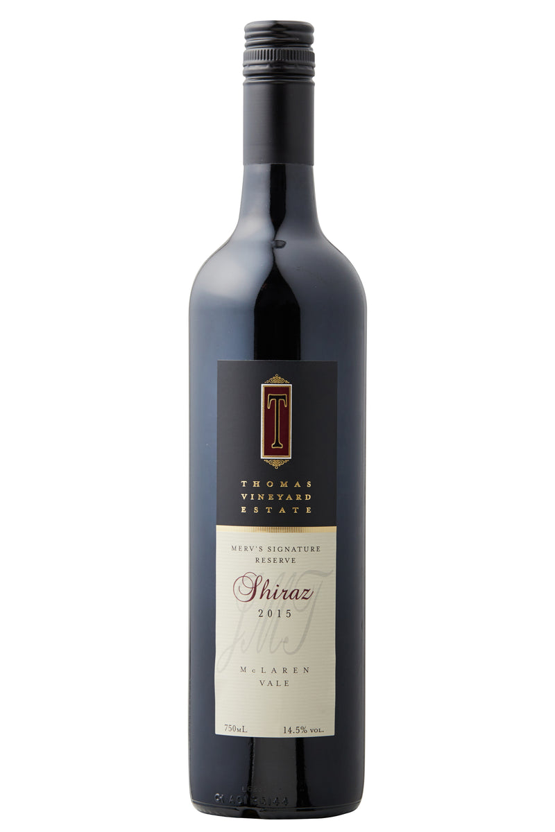 Thomas Vineyard Estate Mervs Signature Reserve Shiraz