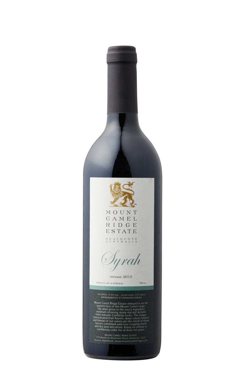 Mount Camel Ridge Estate Syrah