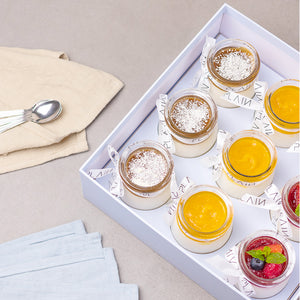 Cheesecake Dessert Jars - Box of 9 - Plain Desserts