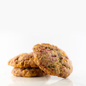 Order Online |  Raspberry & White Chocolate Cookies | Plain Desserts