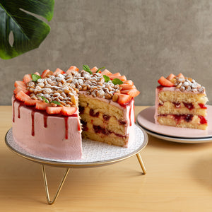 Order Online |  Strawberries & Cream Shortcake | Plain Desserts