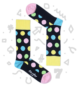 Colourful Polka Dot Bamboo Socks