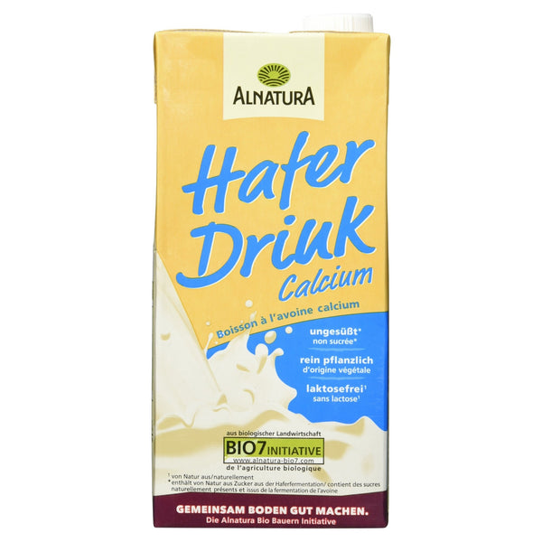 Alnatura Bio H-Hafer-Drink Calcium, 1 Liter