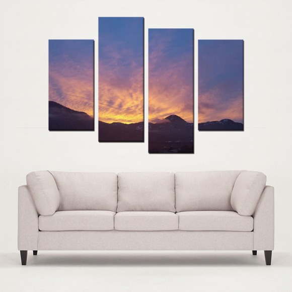 Mountain Sunrise- Canvas Set - Streetside Apparel