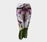 Legs of an Orchid  Capris - Streetside Apparel