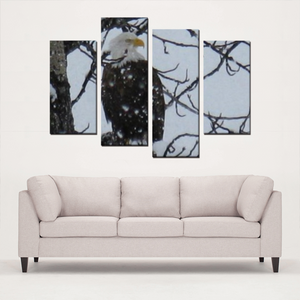 Winter Eagle- Canvas Set - Streetside Apparel