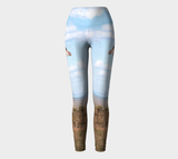 African Giraffe Leggings - Streetside Apparel