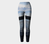 On the Water- Yoga Leggings - Streetside Apparel