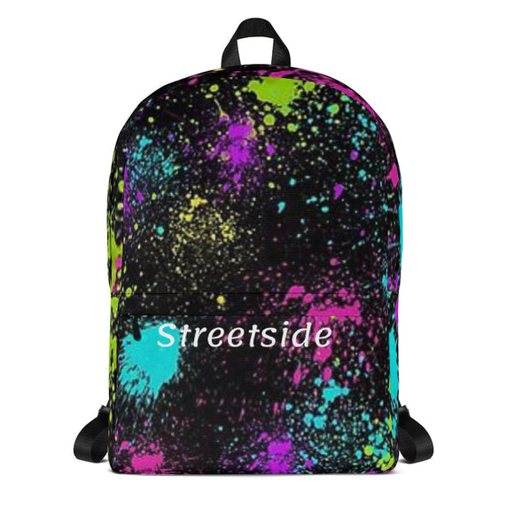 Streetside Splatter Backpack - Streetside Apparel