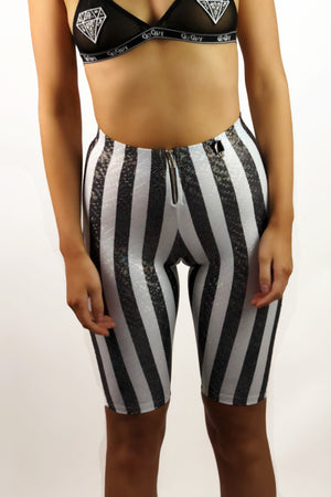 Pinstripe Cycling Shorts