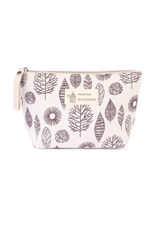 Printed Cosmetic Bag