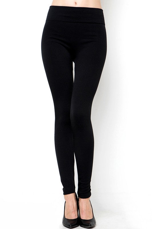 Super Soft High Waist Fleece Leggings