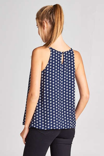 Wooldoby Ditsy Polka Dot Camisole Blouse