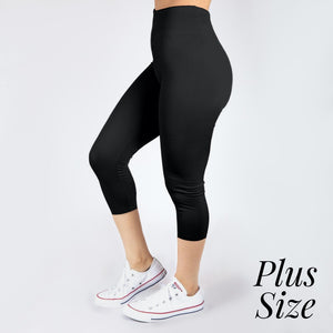 New Mix Black Capris Seamless