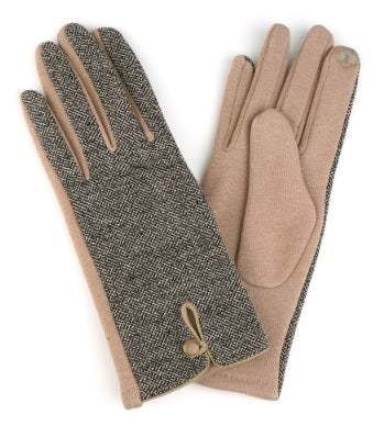 Tweed Smart Touch Gloves
