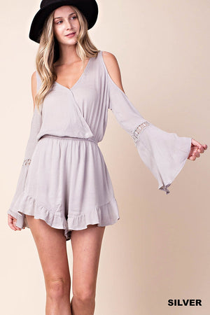 Cold Shoulder Romper