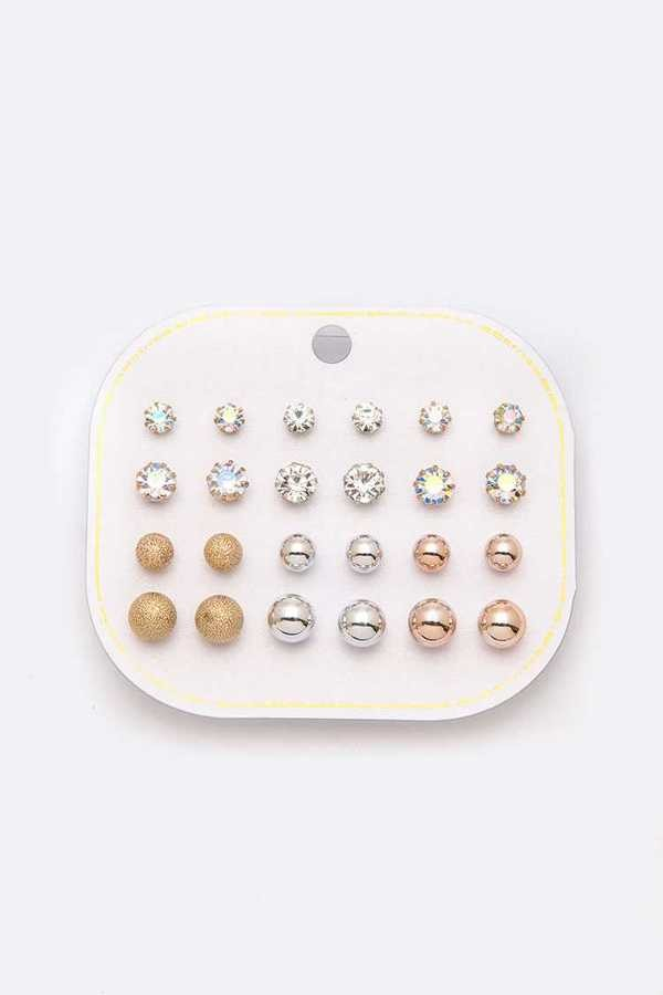 Mix Stud Earring Pack