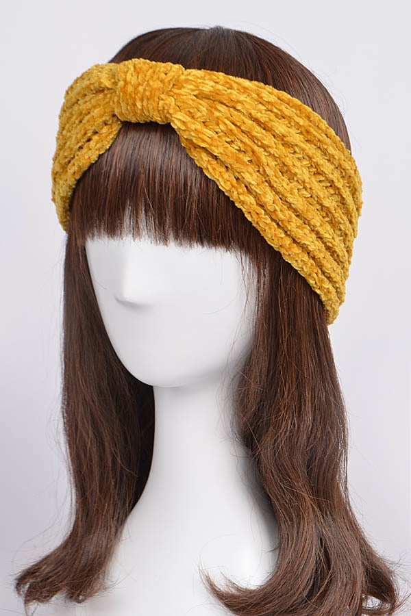 Knit Twist Knot Head Warp