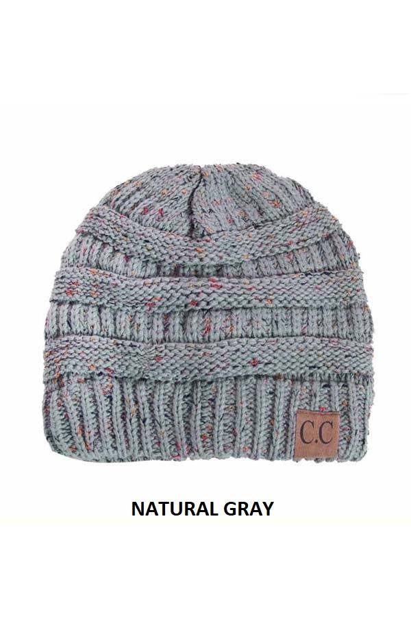 CC Trendy Warm Chunky Soft Stretch Cable Knit Beanie