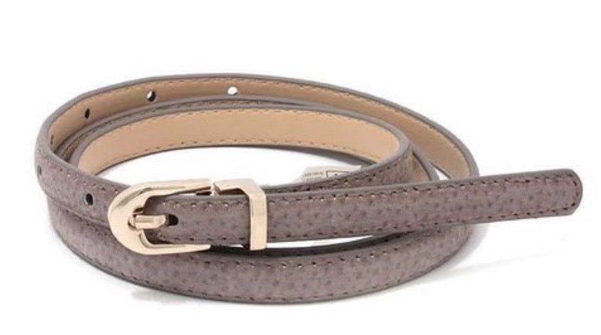 PU Leather Trendy Belt