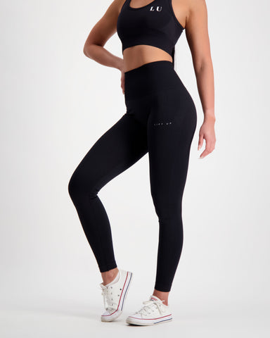 LU Black Seamless Leggings