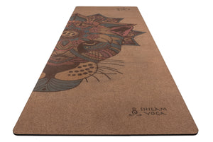 "Yoga Mat Corcho ""Crown Jaguar"" Multicolor"