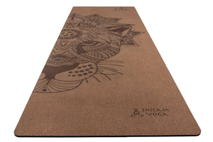 "Yoga Mat Corcho ""Crown Jaguar"""