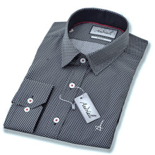 Load image into Gallery viewer, Black Diamond  Slim Fit Dress Shirt (Embroidered Logo) - Esquire Label