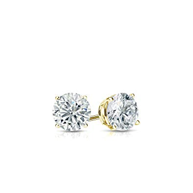 Swarovski Crystals Classic 4 Prong Stud  Earring - Esquire Label