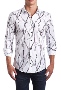 Lux Chains Classic Fit Dress Shirt - Esquire Label