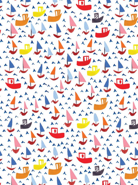 Ships Wrapping Paper