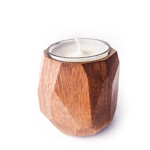 Walnut Tealight Holder