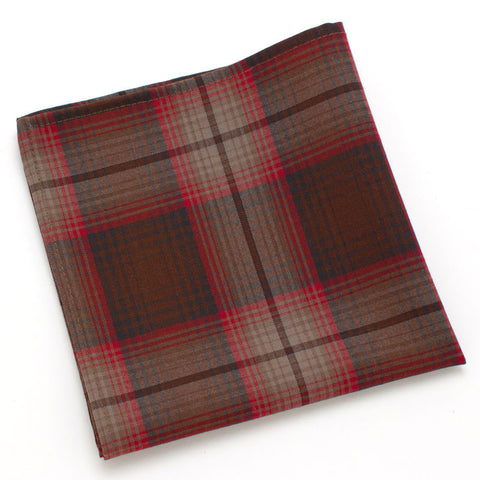 Autumn Plaid ~ Pocket Square