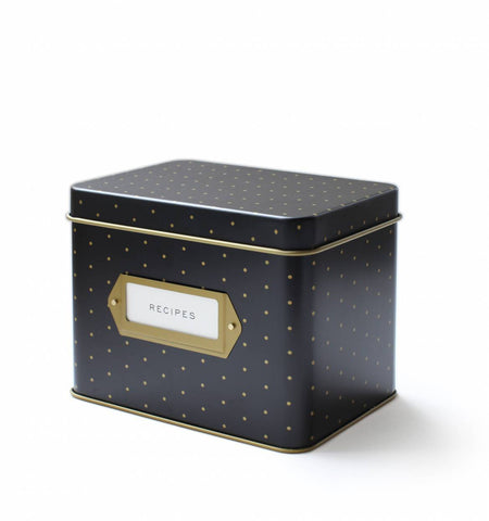Recipe Box ~ Polka Dot