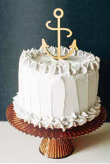 Anchor Cake Topper