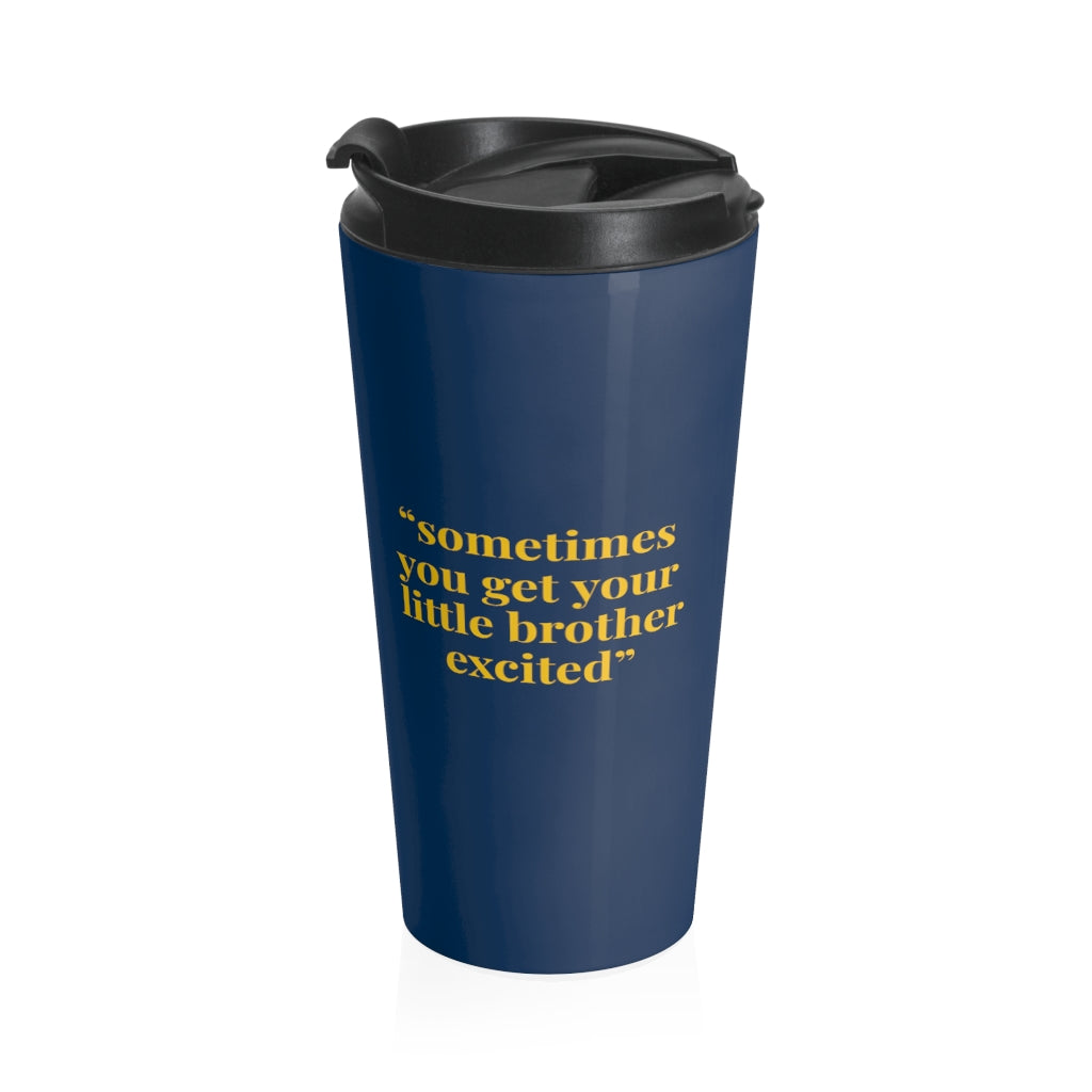 Little Brother - Travel Mug | Meechigan Moments